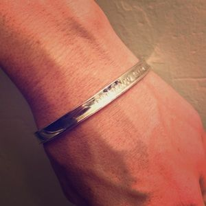 Tiffany&Co. Sterling Silver 925 Bangle Bracelet